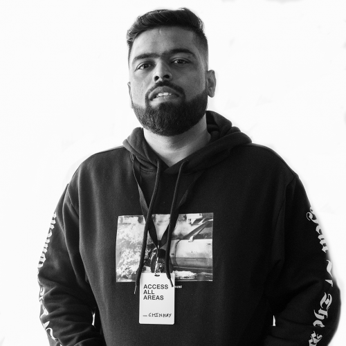 Chinmay Deshpande - Artist & Label Manager, GULLY GANG ENTERTAINMENT, focussing on managing and developing Indian Hip-Hop talent